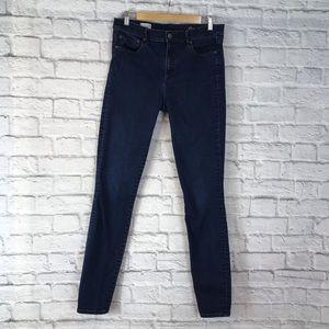 GAP 1969 Resolution True Skinny Jeans Size 31 tall